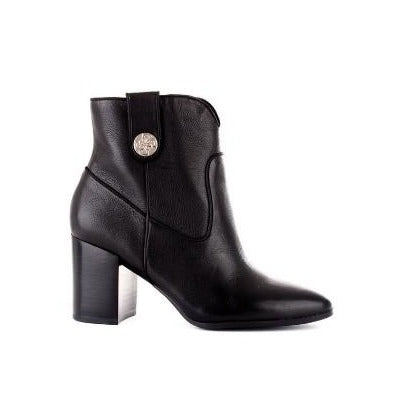 GUESS CYPHER LEATHER ANKLE BOOT