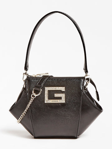 GUESS DINNER DATE RHINESTONE SHOULDER BAG
