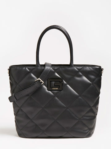 GUESS BRIGHTSIDE QUILTED SHOPPER