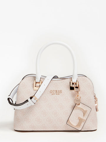 GUESS MIKA 4G LOGO MINI HANDBAG