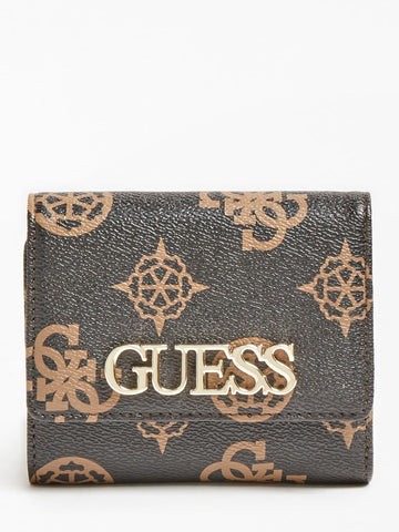 GUESS UPTOWN CHIC LOGO MINI WALLET