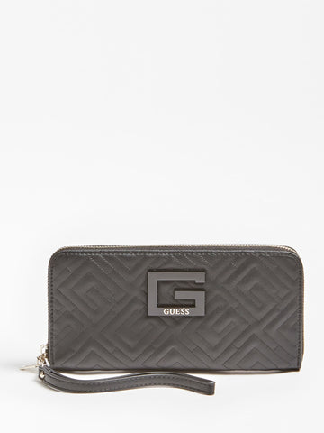 JANAY QUILTED MAXI WALLET