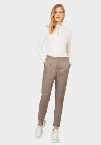 Tiffosi Artic Check Pants