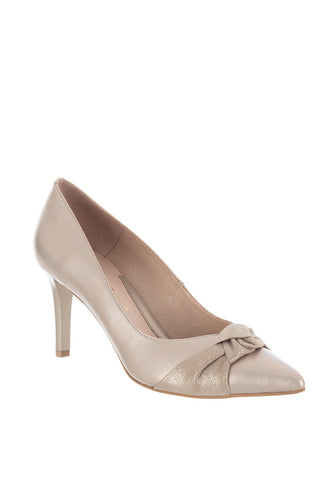 Emis Knot Court Shoe - Low heel