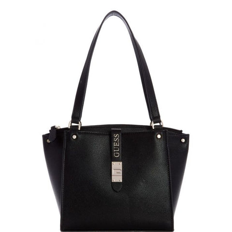 GUESS NEREA BLACK MINI CARRYALL