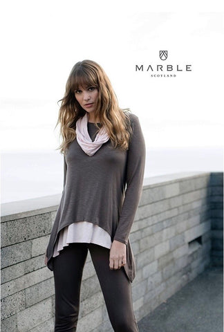 MARBLE TUNIC WITH SCARF 5931