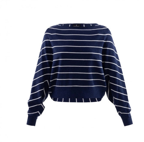 MARBLE STRIPED SWEATER 6100 103