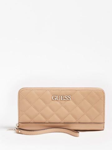 ILLY QUILTED MAXI WALLET