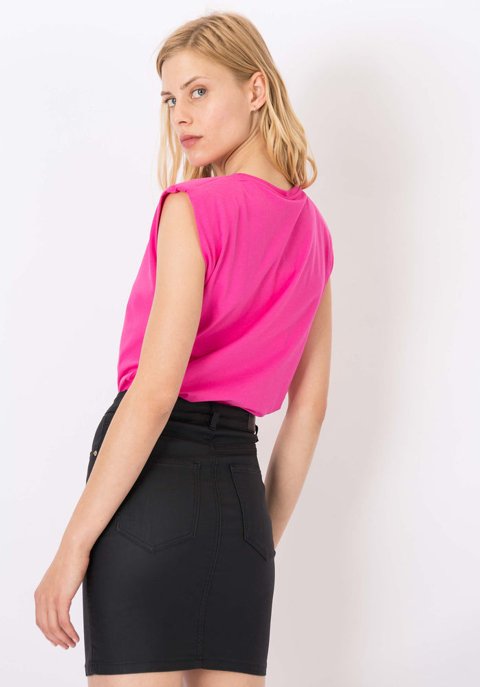 TIFFOSI MOVIE PADDED SLEEVELESS TOP