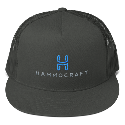 Trucker Hat-Charcoal Gray