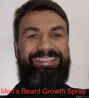 Men's Beard Growth Spray
