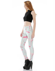 Flamingo Printed Leggings