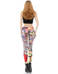 Naruto Dragon Ball Printed Leggings
