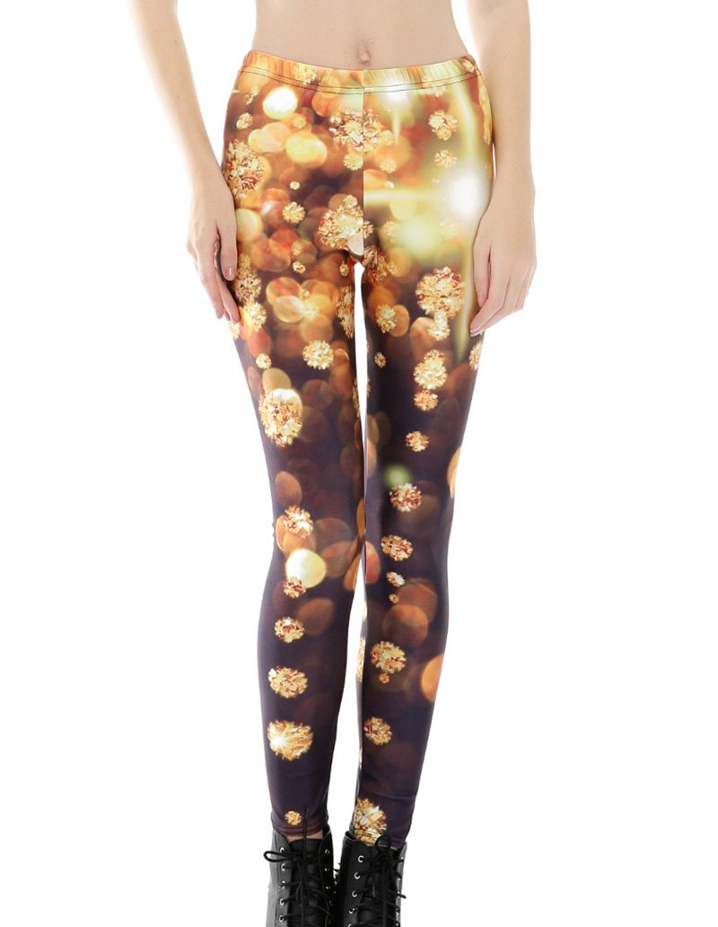 Diamond Printed Leggings