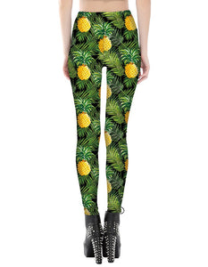 Pineapple Printed Leggings