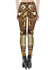Robot Printed Leggings