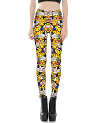 Pikachu Printed Leggings