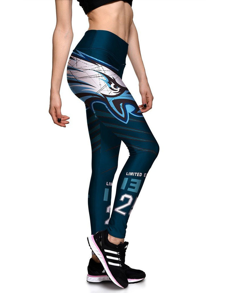 Eagle Print Limited Edition 13T Womens Workout Yoga Tights Leggings