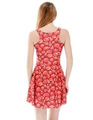 Halloween Pumpkin Creator Free Summer Vest Skater Dress