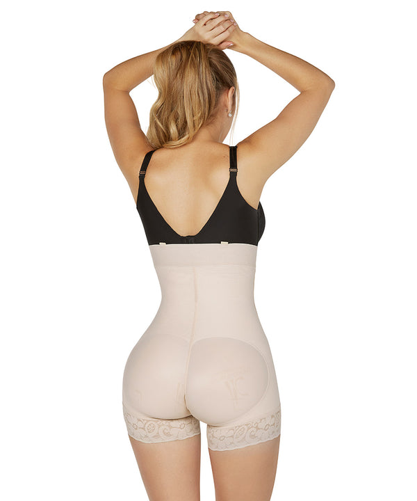 Faja Colombiana, Panty Body Shaper & Girdle, Strapless, Zipper (Ref. O-040 )