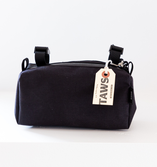 Antibunk Handlebar Bag - Black