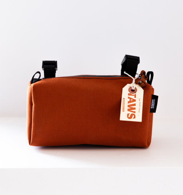 Antibunk Handlebar Bag - Rust