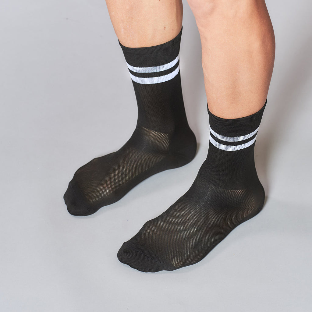 Socks Stripes Black