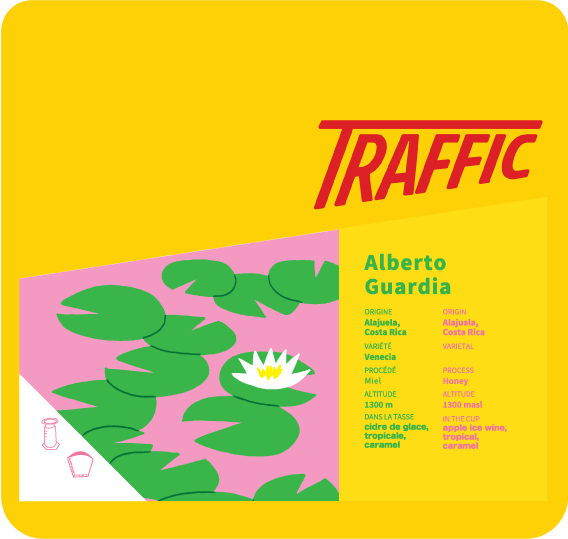 Sac de café Traffic - Alberto Guardia
