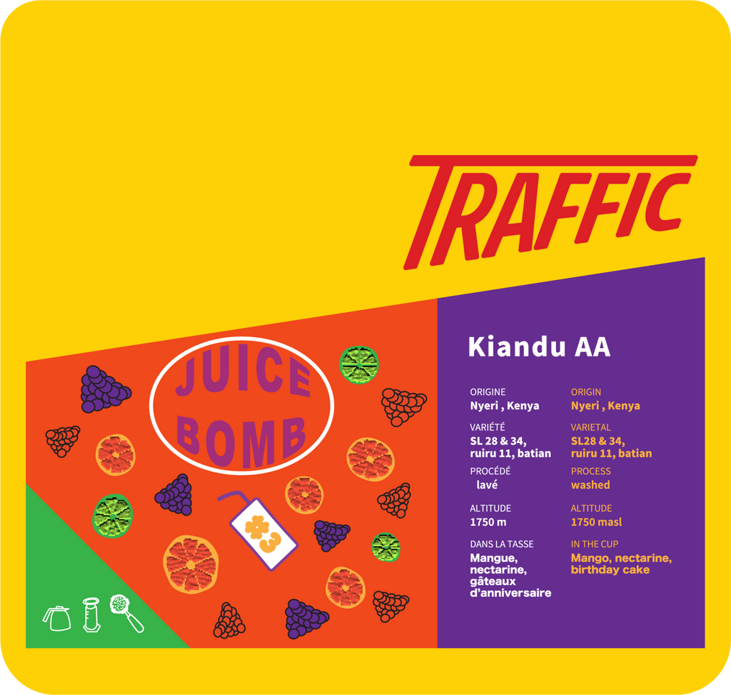 Coffee Bag - Traffic - Kiandu