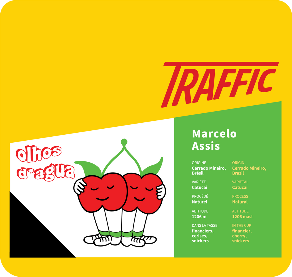 Coffee Bag - Traffic - Marcelo Assis