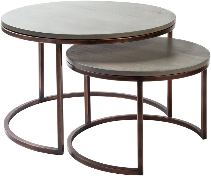 "Aaron ARN-001 20""H x 30""W x 30""D, 16""H x 23""W x 23""D Furniture Piece"