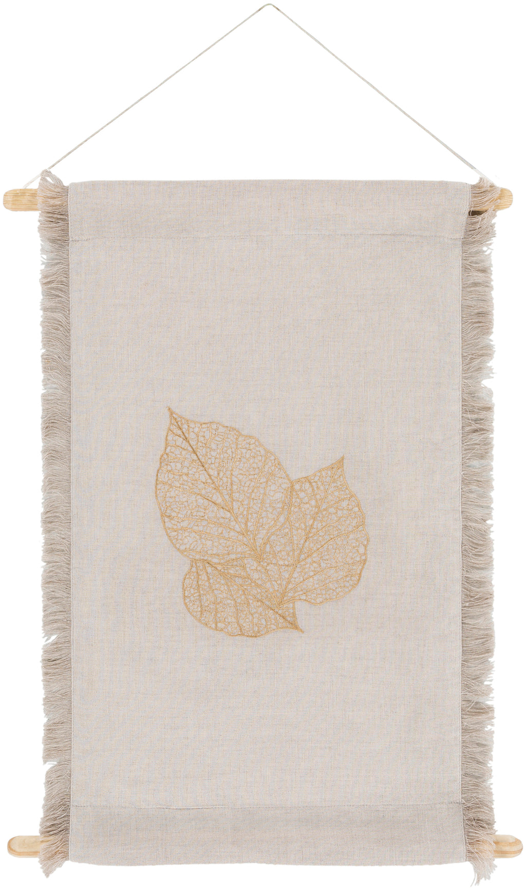 Embodying time-honored designs that have been revered for generations, the Leaf Collection redefines vintage charm from room to room within any home décor. The meticulously woven construction of these pieces boasts durability and will provide natural charm into your decor space. Made in India. For optimal product care, wipe clean with a dry cloth. Manufacturers 30 Day Limited Warranty.