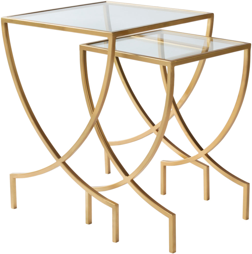 "Zareen ZRN-001 24""H x 18""W x 18""D, 22""H x 14""W x 14""D Furniture Piece"