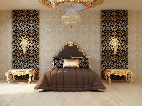 Moroccan Bedroom Accent Wall