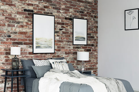 Urban Modern Bedroom Accent Wall