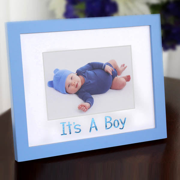 Fo Its A Boy Frame Set Crescent Creative Products
