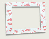 Frame Occasions: Footprints | Mat Only
