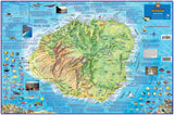 Kauai Dive Map