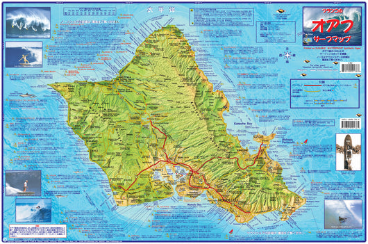 Oahu Surf Map - Japanese version