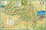 Santa Ana Mountains & Chino Hills Trail Map