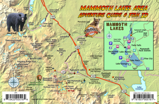 Mammoth Lakes Guide & Fish Card
