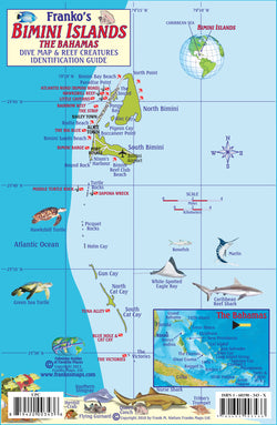 Bimini Islands, The Bahamas, Fish Card