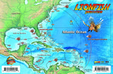 Lionfish infestation map and getting rid of lionfish