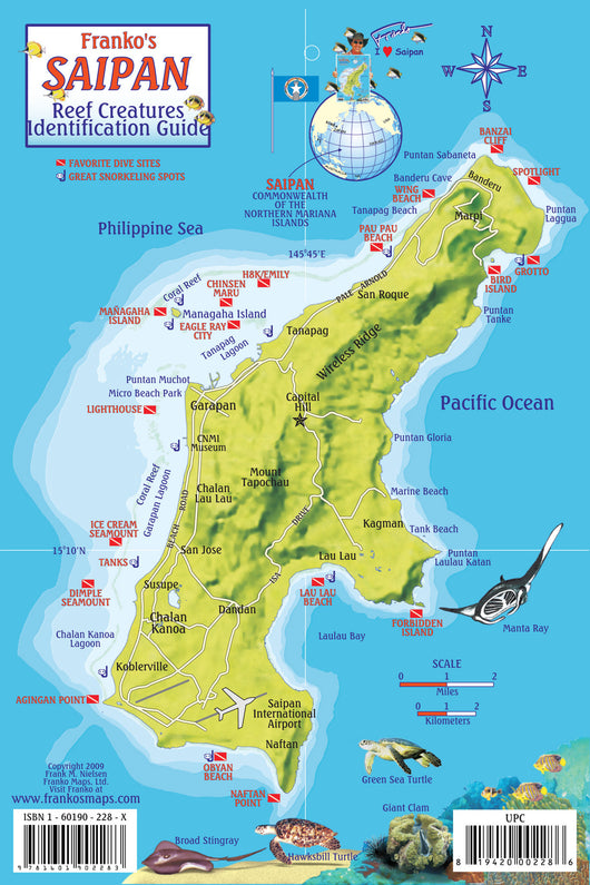 Saipan Fish Card