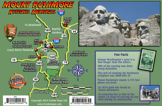 Mt Rushmore National Memorial Card