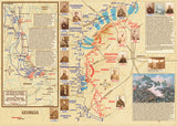 Kennesaw Mountain National Battlefield History Guide & Trail Map