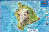 "Hawaii ""Big Island"" Adventure Guide Map"