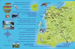 Key West Walking Guide Card