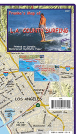 Los Angeles County Surfing Map