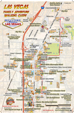 Las Vegas Family Adventure Guide Card